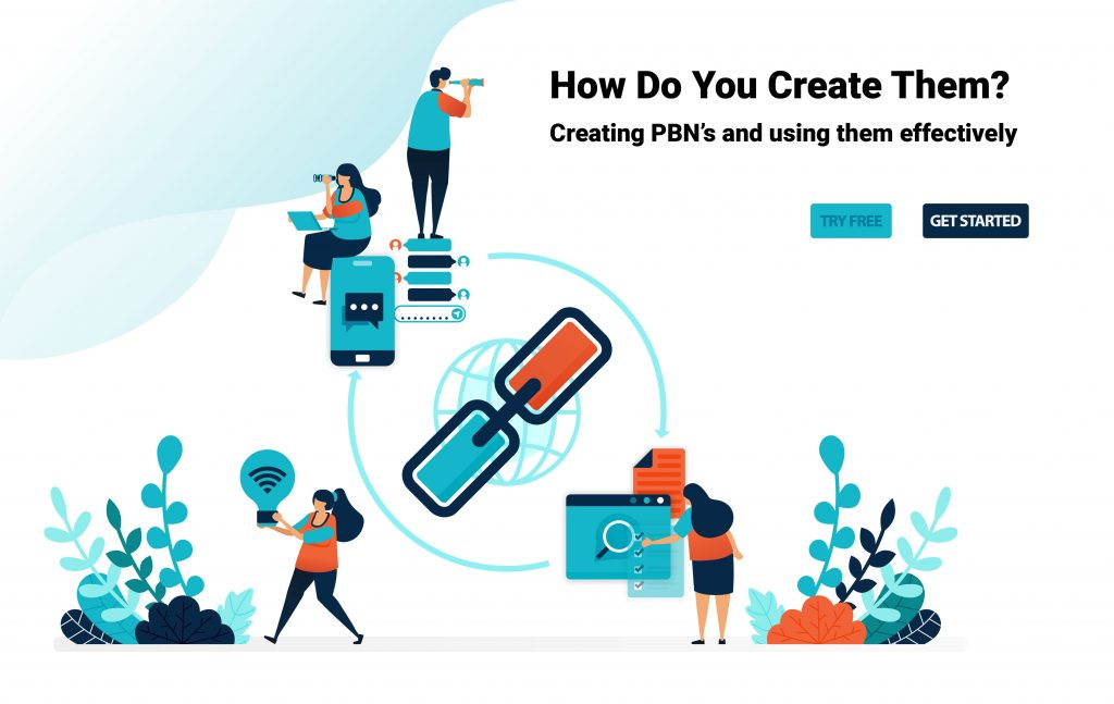 What are PBN backlinks & how to create this link?