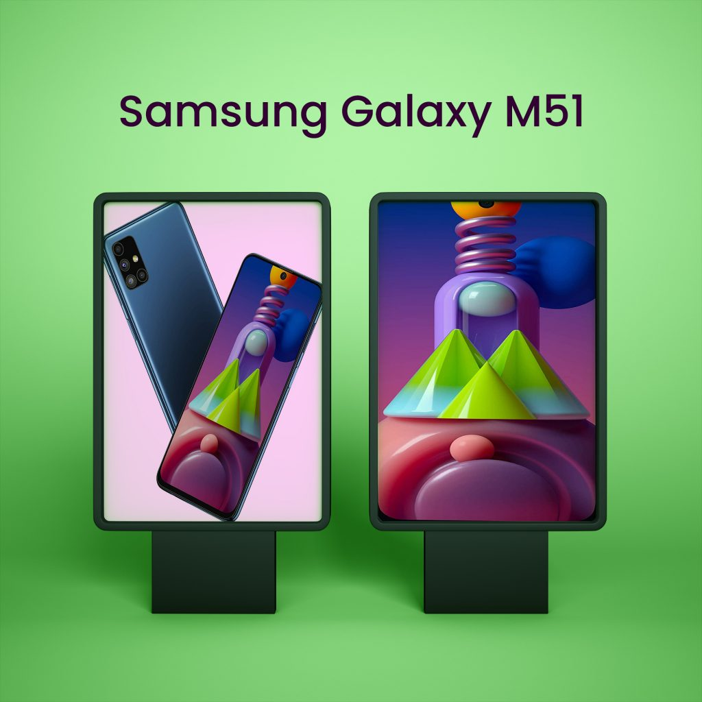 Samsung Galaxy M51 Android Mobile Phone